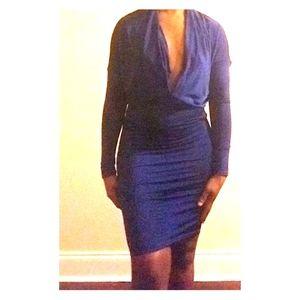 Dresses & Skirts - BNWOT Reversible Long Sleeve Midi Dress